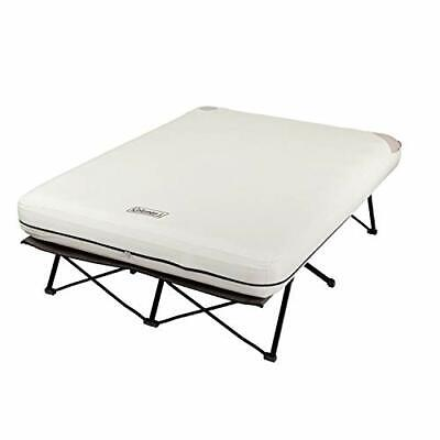 Coleman Camping Cot Air Mattress and Pump Combo | Folding Camp Cot and Air Be...