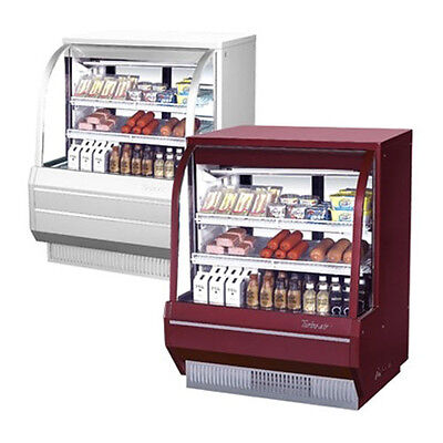 Turbo Air Tcdd-48-2-h 48-inch Curved Glass Refrigerated Bakery Display Case 13