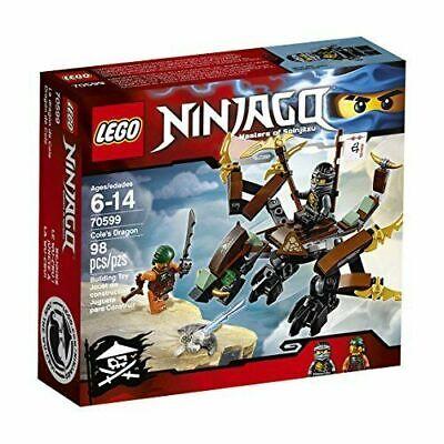 LEGO Ninjago Cole's Dragon Spinjitzu 70599 98 pcs Building Kit Legos RETIRED NEW
