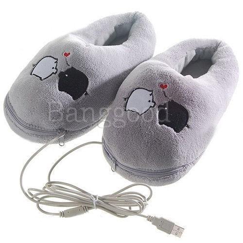 Battery Heated Clothing >> Heated Slippers | eBay