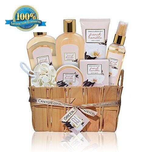 Gift Baskets for Men Women Spa Set Her Wife Mom Bath Body Ch