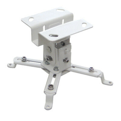 Universal Extendable Tilt DLP LCD Ceiling Projector Mount Bracket 44 lbs - White