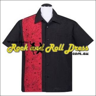 Rockabiilly pinup shirt, mens pinup shirt, mens rock n roll shirt Valley View Salisbury Area Preview