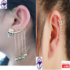 Rhinestone Climber Fashion Earrings
