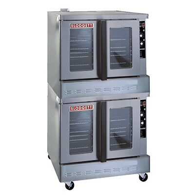 Blodgett Zephaire 100-g Double Stack Nat. Gas Convection Oven Standard Depth