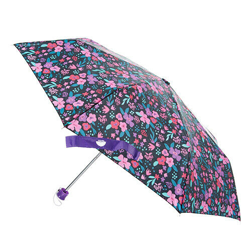 "Garden Flowers Multi Color Floral Umbrella Big42"" Width High"