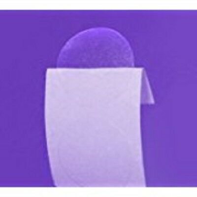 """Clear Retail Package Seals 1.5"""" Inch Round Circle Wafer Stickers/labels 500 Per"""