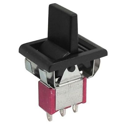 Ac 250v3a 125v5a Momentary Spdt 3 Positions Toggle Switch T80-r E8x6