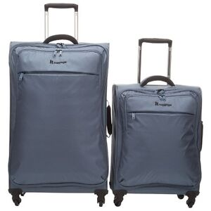 IT Luggage 2pc 4wheel Spinner Mirage Blue -New in box