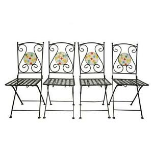 Vintage Metal Folding Chairs