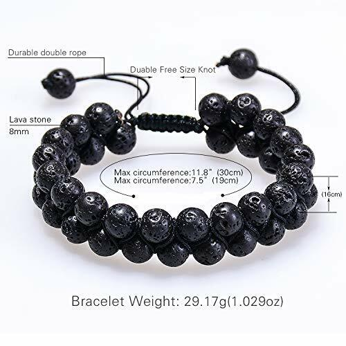 8MM Layer Rock Oil Diffuser Bracelets