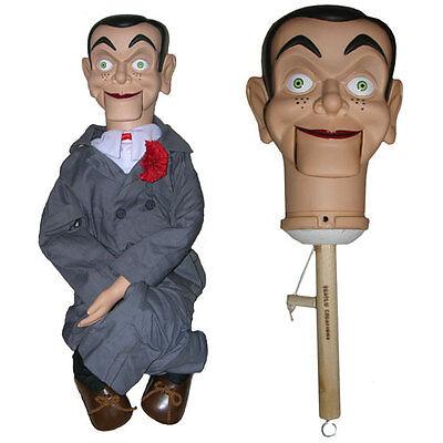 Slappy upgraded Semi-Pro Ventriloquist Doll Puppet Dummy - BUY DIRECT-Goosebumps