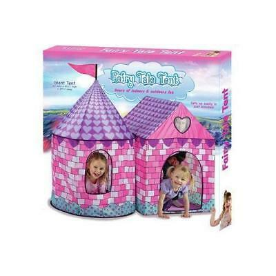 Fairy Tale Tent Playhouse Play House Kids Children Fold Up Indoor Outdoor Pop Up