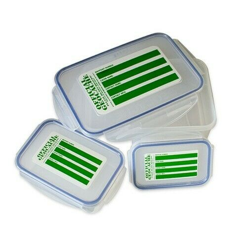 Triple Cache Geocaching Container - Set