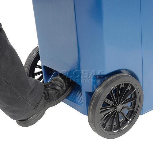 Wheeled Trash Can Ebay