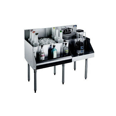 Krowne Metal Royal 1800 Series 48w Underbar Ice Bincocktail Station