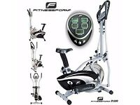 Fitnessform® X10 Cross Trainer 2-in-1 Fitness Elliptical Exercise Bike