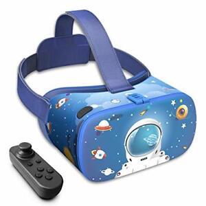 Children's Edition V5 VR Headset 110° FOV HD Virtual Reality Headset Bluetooth