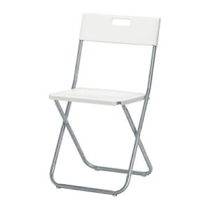 $1 a day  Chair rental and $5 a day Folding Table rental.