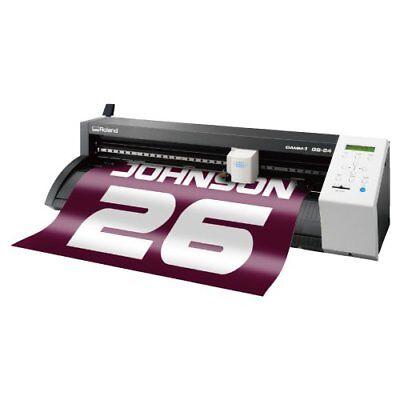 Roland Gs-24 Gs24 Camm-1 Vinyl Cutter Plotter Cutting Printer Japan 23.6 Inch Fs