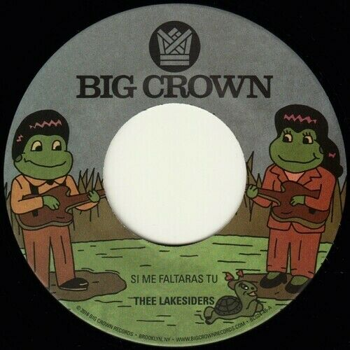 "Thee Lakesiders - Si Me Faltaras Tu / Parachute [New 7"" Vinyl]"