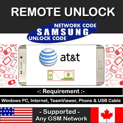 Instant Remote Unlock Code Service At&t Xfinity Samsung Galaxy Note 8 SM-N950U