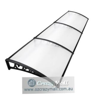 DIY Window Door Awning Cover Aluminium Bar 1X3M