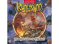 Fantasy Flight: Runebound 2nd Edition: Island of Dread: Brand New & Sealed