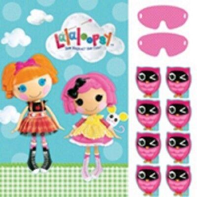 (2) Lalaloopsy Birthday Party Games -  2-8 - Lalaloopsy Birthday Party