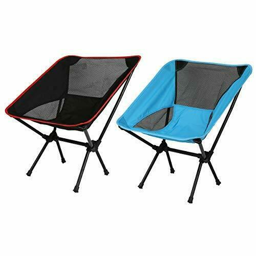 Ultralight Portable Folding Chair, Compact Backpack Camping Lightweight stool