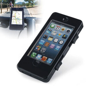 Handlebar Mount Holder Waterproof Case Cover For iPhone 5