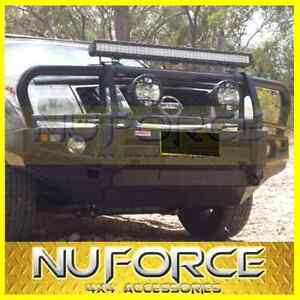NISSAN NAVARA D40(2005-2014) BULL BAR FITS THAI & SPAIN WINCH COMPATIBLE BULLBAR