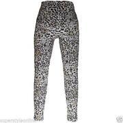 Girls Leopard Print Leggings