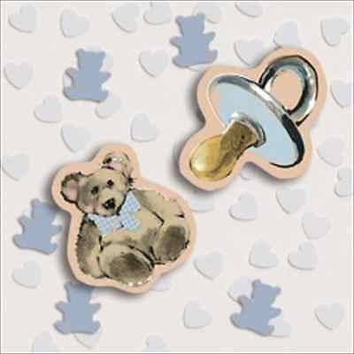 Sweet Prince Confetti For a Boy Baby - Prince Decorations For Baby Shower