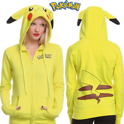 Boys Pokemon Pikachu Hoodie Sweatshirts Anime US Seller New (Pikachu Anime Girl)
