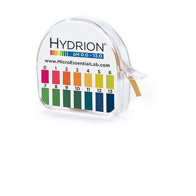 Hydrion Insta Chek Lab pH Acid Test Paper Strip Tape Roll 0-13 Range USA MPN 93