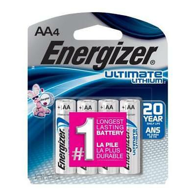 Energizer Ultimate Lithium AA Batteries L91BP-4 - 4 Pack for sale  Brooklyn