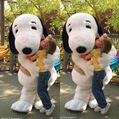 Huge dog Mascot Costume character outfit Dress birthday party Game Adult Suit A+