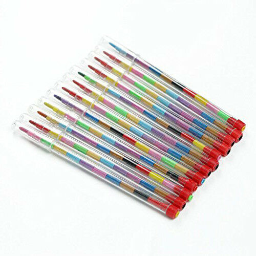 6 Jungle crayons Parti Loot Sac Remplissage
