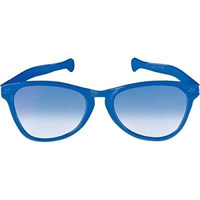 2 Pack - Party Ready Team Spirit JUMBO Glasses, Blue, 10
