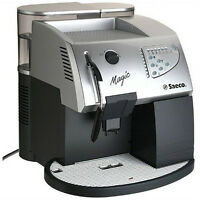 Saeco Magic Deluxe Superautomatic Espresso Cappuccino machines