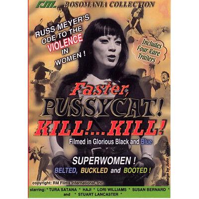 Russ Meyers Faster Pussycat Kill  Kill    Dvd  Rare Cult Classic