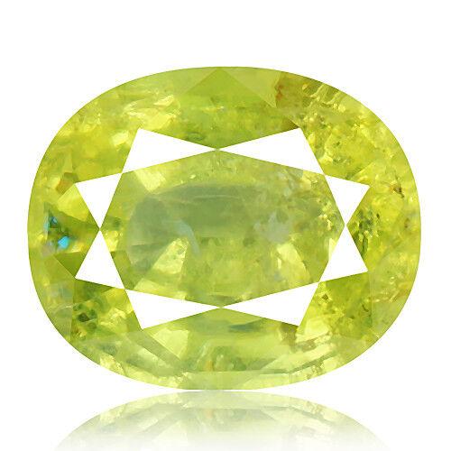 Tsavorite Family Garnet 5.68ct yellowish green color 100% natural earth mined