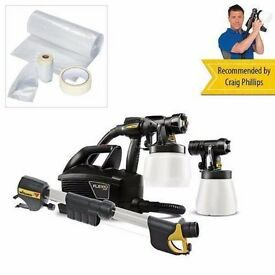Wagner Universal Sprayer W699 Flexio with Universal Masking Kit and Extension.......Brand New