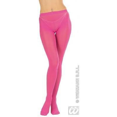 Ladies Hot Pink Tights Fairy Princess Barbie Fancy Dress - Ladies Barbie Fancy Dress