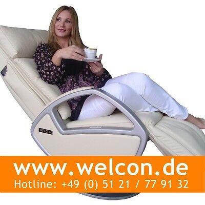 WELCON Space Massagesessel | Massagestuhl mady by KEYTON - Leder beige / creme ()