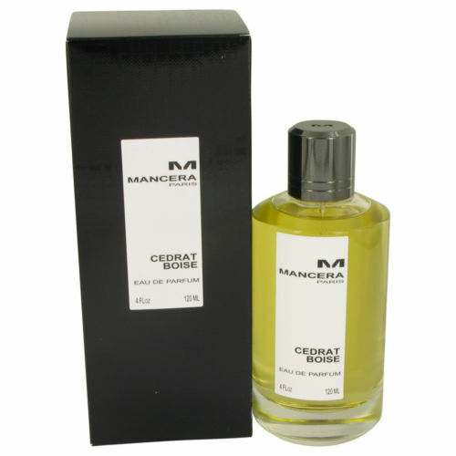Mancera Cedrat Boise Eau De Parfum Spray 4 oz New Sealed Box