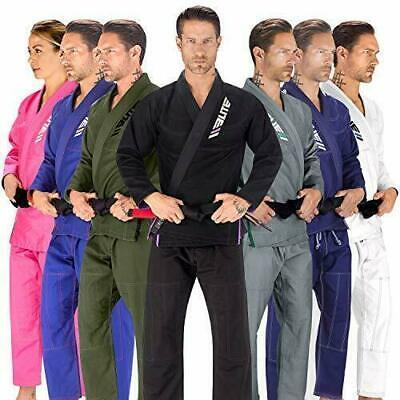 Elite Sports BJJ GI for Men IBJJF Kimono BJJ Jiujitsu GIS W/Preshrunk Fabric A2