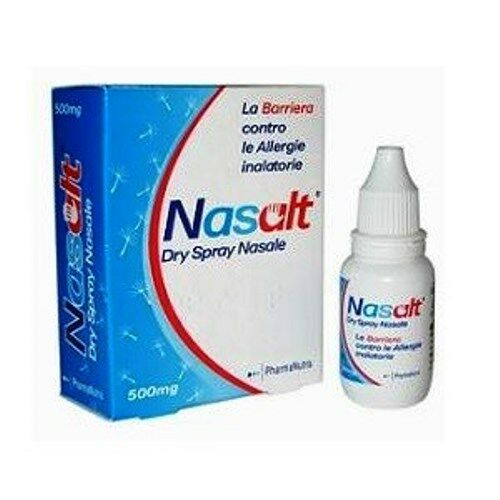 Nasalt Dry Spray Nasale 500 mg