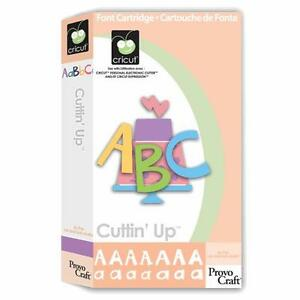 RETIRED Cricut Cuttin' Up FONT Cartridge - $45